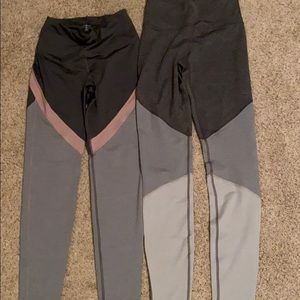 2 pairs of Old Navy Active Tall Medium leggings